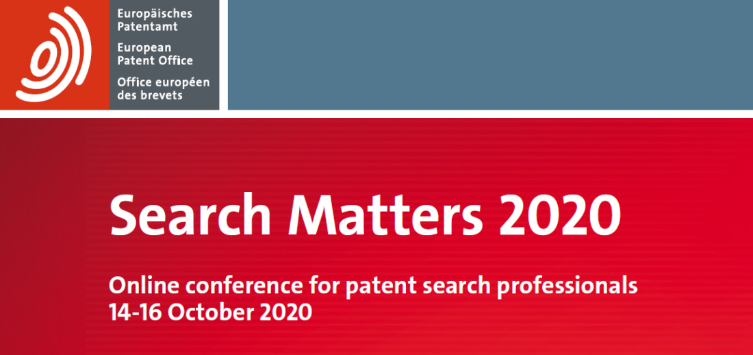 EPO Search Matters 2020